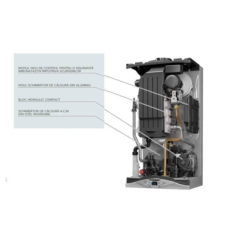 Poza Componente Centrala termica in condensare Ariston CARES PREMIUM 30 EU 30 KW