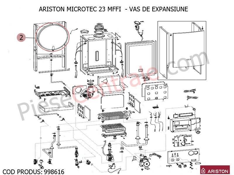 Poza Vas expansiune pentru centrale termice Ariston MICROTEC SI MICROGENUS