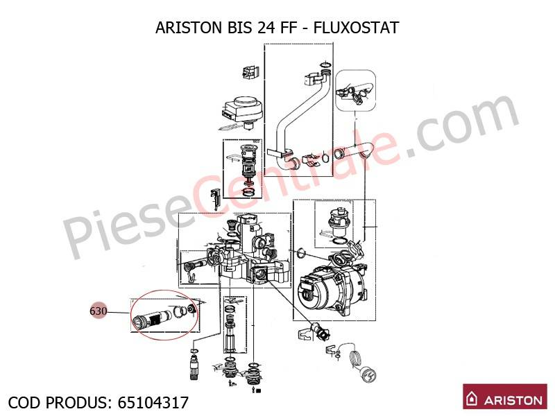 Fluxostat centrale termice ariston bis 24 ff egis as for Caldaia ariston egis 24 ff problemi