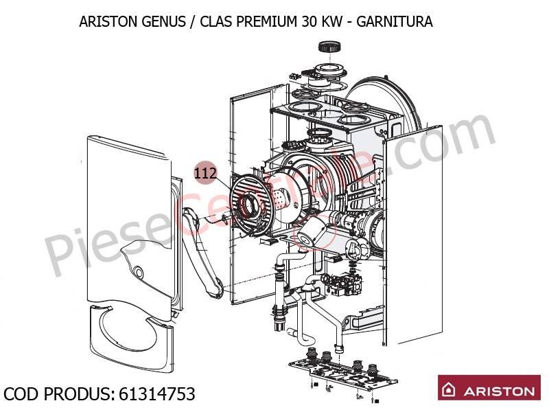 Poza Garnitura centrale termice Ariston Genus Premium, Clas Premium