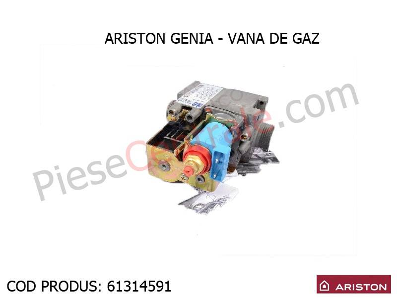 Poza Vana de gaz centrala termica Ariston Genia