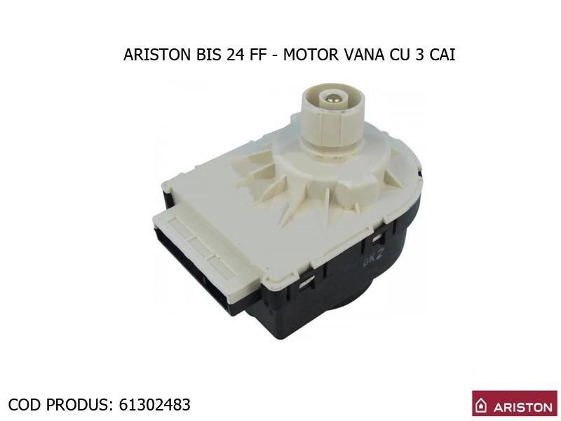 Poza Motor vana cu 3 cai centrale termice Ariston BIS, BIS 2, Clas, Genus, Clas premium, Genus Premium