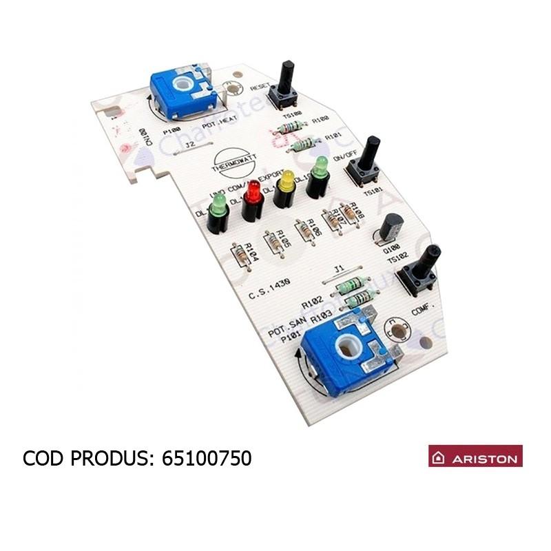 Poza Placa electronica display centrale termice Ariston UNO 24 mi/mffi. Poza 8204