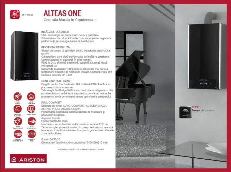 Poza Centrala termica Ariston Alteas One Net 30 EU 30 KW. Poza 8375
