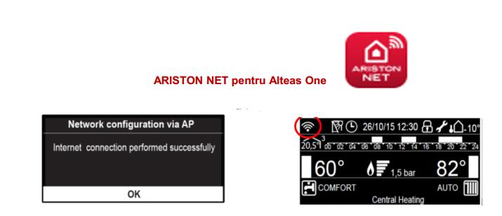 Poza Centrala termica Ariston Alteas One Net 35 EU 35 KW. Poza 8403