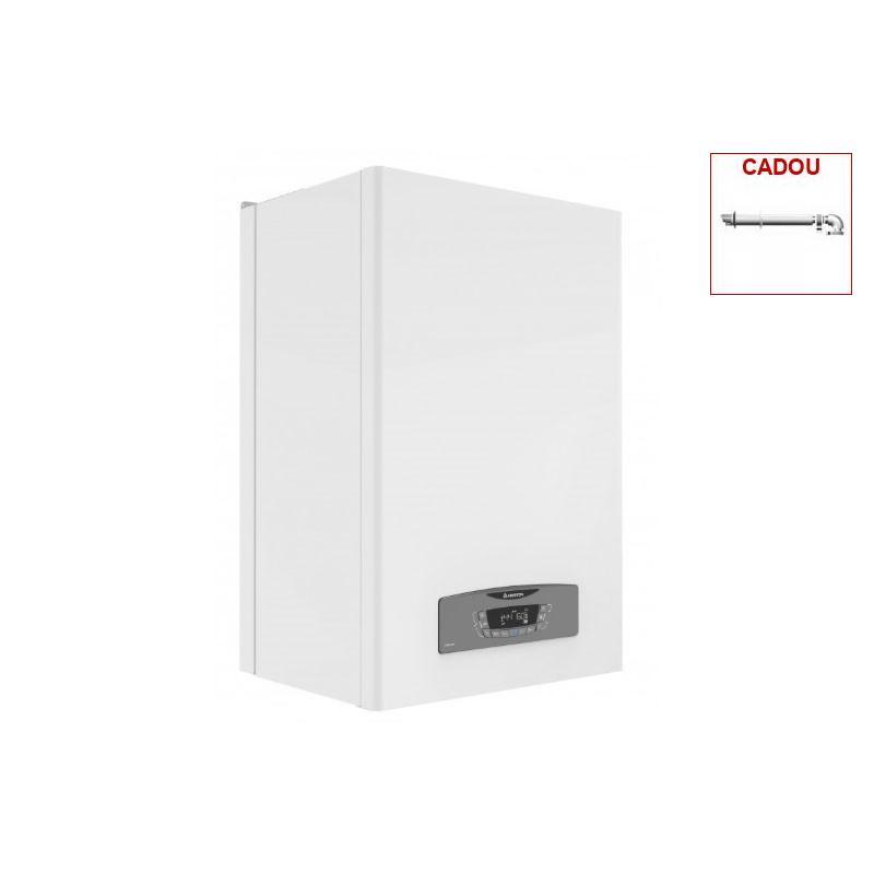 Poza Poza produs Centrala termica in condensatie Ariston Clas B 35 kw cu 2 rezervoare a cate 20 litri + produs cadou