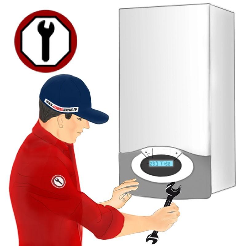 Poza Revizie centrala termica pe gaz cu putere cuprinsa intre 36 si 60 kw. Poza 8818