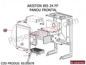 Poza Panou frontal centrala termica Ariston BIS 24 FF