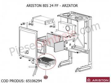 Poza Arzator centrala termica Ariston BIS 24 FF, Bis 2 24 kw, Genus, Clas
