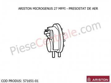 Poza Presostat aer centrala termice Ariston MICROGENUS 27 MFFI