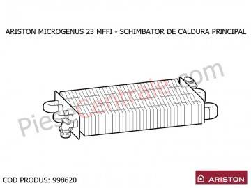 Poza Schimbator de caldura principal centrala termica Ariston MICROGENUS 23 MFFI