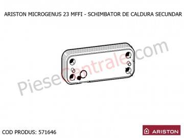 Poza Schimbator de caldura secundar in placi pentru centrala termica Ariston MICROGENUS 23 MFFI