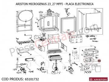 Poza Placa electronica centrale termice Ariston MICROGENUS MFFI