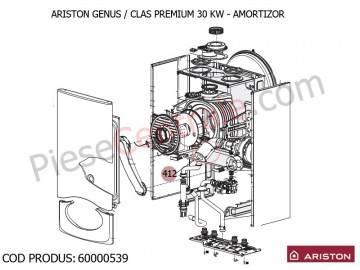 Poza Amortizor centrale termice Ariston Genus Premium, Clas Premium