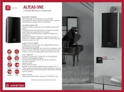 Poza Centrala termica Ariston Alteas One Net 35 EU 35 KW. Poza 8401