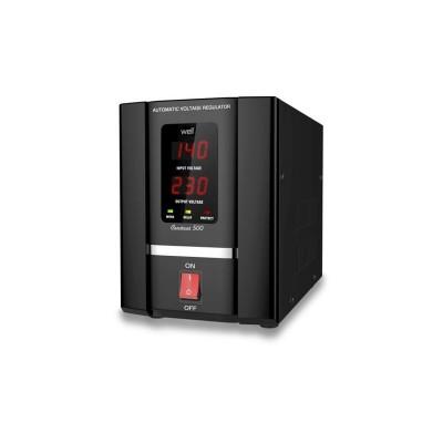 Poza Stabilizator automat de tensiune cu servomotor Well 500VA. Poza 8556