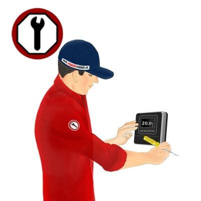 Poza Instalare termostat ambient cu fir si fara fir. Poza 8815